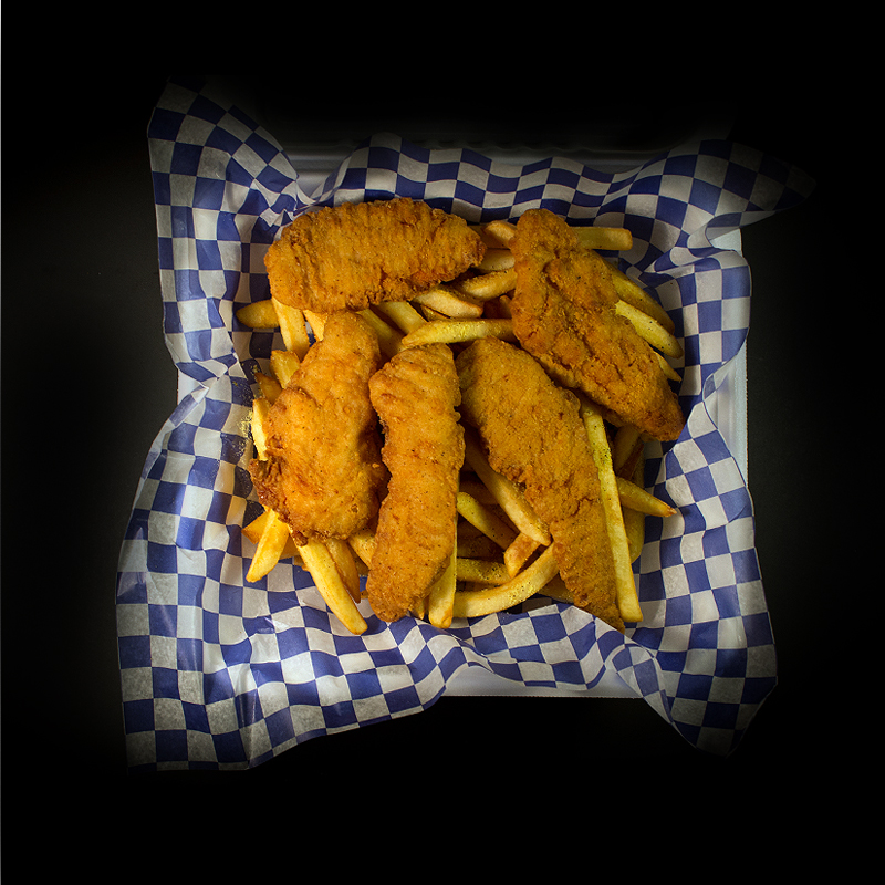 Chicken Fingers With Fries