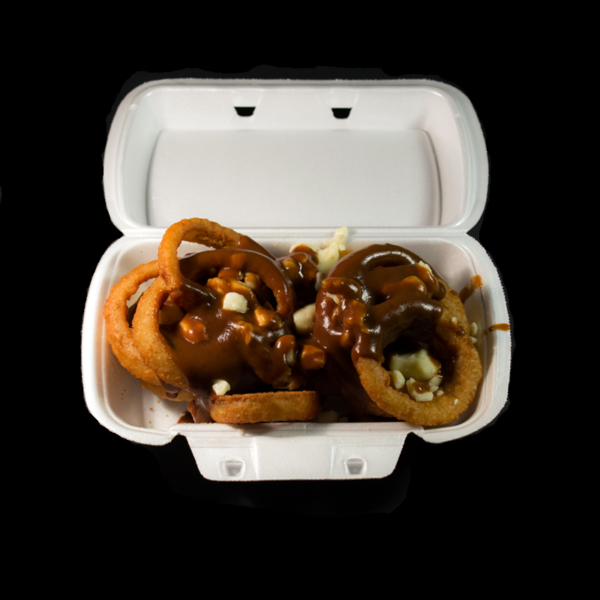 Onion Ring Poutine