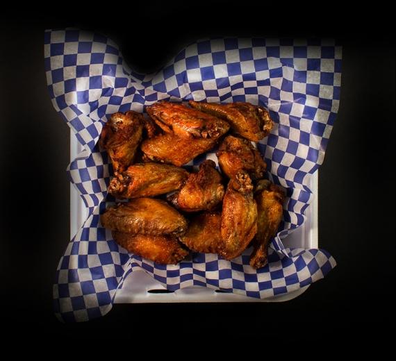 10 jumbo non-breaded chicken wings
